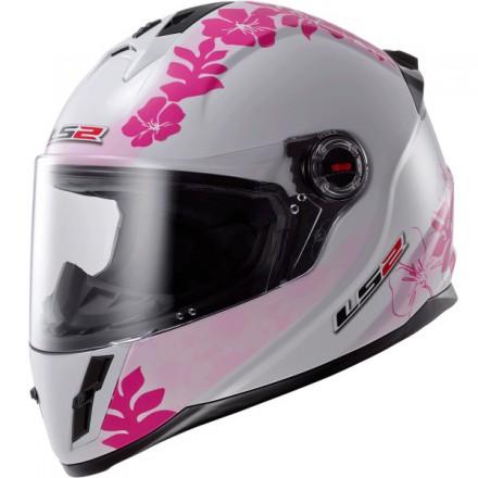 Casco integral LS2 FF392J Vanity White Pink