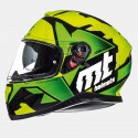 Casco integral MT Thunder 3 SV Torn Gloss Fluor Yellow Fluor Green