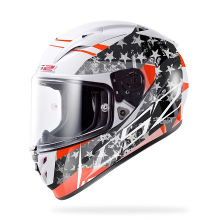 Casco integral LS2 FF323.23 Arrow R Stride White Titanium