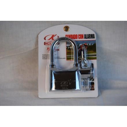 Antirrobo disco con alarma Kum aleación Zinc
