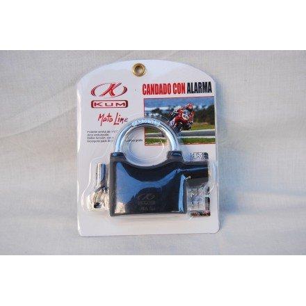 Antirrobo disco con alarma Kum aleación Aluminio