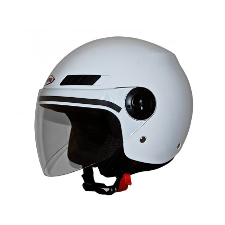 Casco jet SHIRO SH-62 GS color blanco