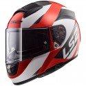 Casco integral LS2 FF397.32 Vector FT2 Wavy Black White Red
