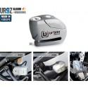 Antirrobo disco Urban UR9Z con alarma 6mm. y 120 db