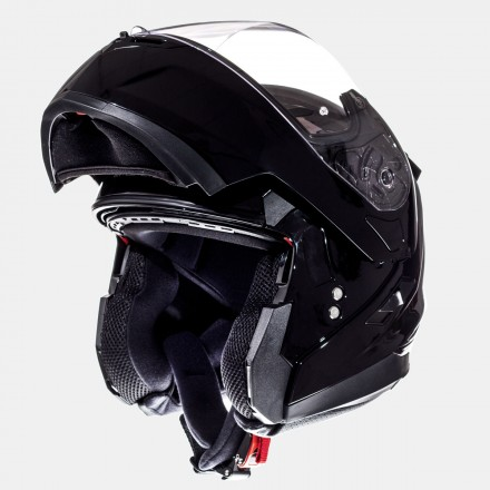 Casco modular MT Flux Solid Black