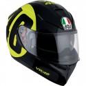 Casco AGV K-3 SV Pinlock Rossi Bollo 46 Black/Yellow