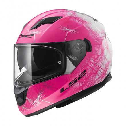 Casco integral LS2 FF320.49 Stream Evo Wind White Fluo Pink