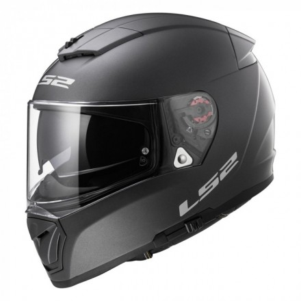 Casco integral LS2 FF390.10 Breaker Solid Matt Titanium