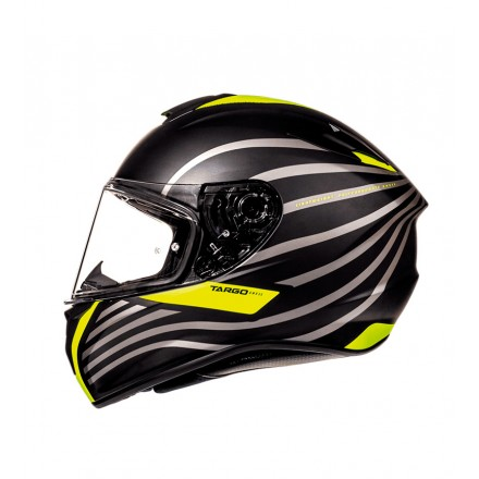 Casco integral MT Targo Doppler A1 Matt Fluor Yellow