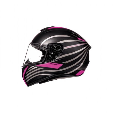 Casco integral MT Targo Doppler A2 Matt Fluor Pink