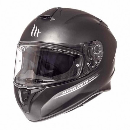 Casco integral MT Targo Solid A1 Matt Black