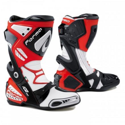 Botas moto Racing Forma ICE PRO rojo