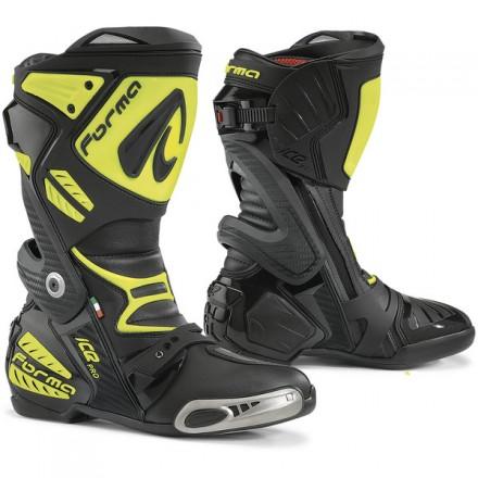 Botas moto Racing Forma ICE PRO amarillo flúor