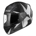 Casco integral LS2 FF352.54 ROOKIE Brilliant Matt Black Titanium