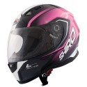 Casco integral Shiro SH-881 Motegi Rosa