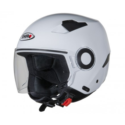 Casco jet SHIRO SH-61 APP blanco