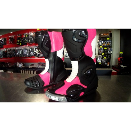 Botas racing ZX-ONE GP Pro color rosa flúor