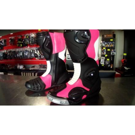 Botas racing ZX-ONE GP Pro color rosa flúor