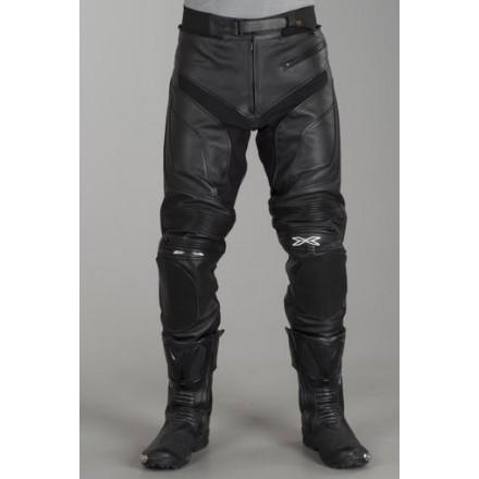 Pantalones de cuero IXS Snipe negro