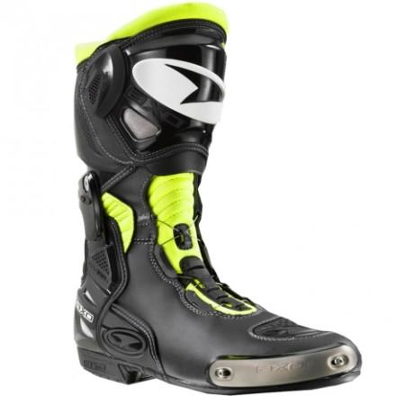 Botas racing AXO Aragón amarillas flúor negro