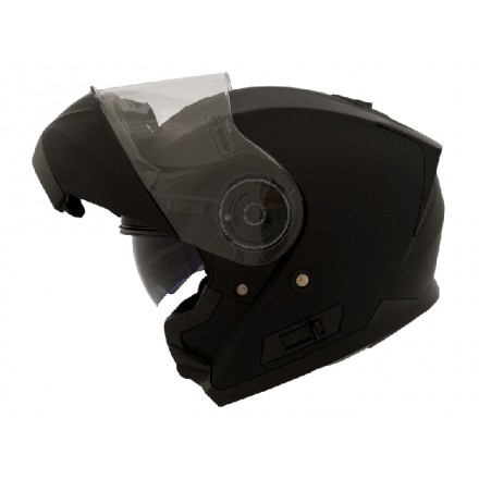 Casco modular Shiro SH-507 color negro brillo
