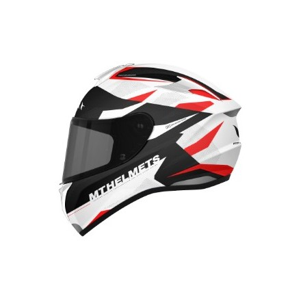 Casco integral MT Targo Enjoy D5 Gloss Pearl Red