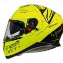 Casco integral MT Thunder 3 SV Board A0 Gloss Fluor Yellow
