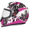 Casco integral MT Kids Thunder Breeze D8 Rosa Perla Brillo