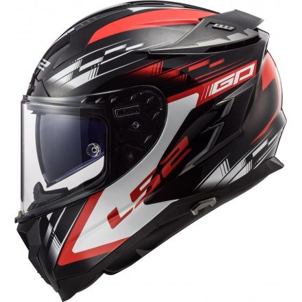 Casco integral LS2 FF327 Challenger GP Black Red