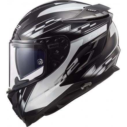Casco integral LS2 FF327 Challenger GP Black White