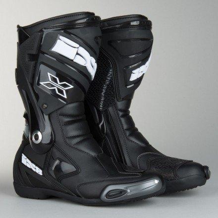 Botas moto racing IXS Estoril negras