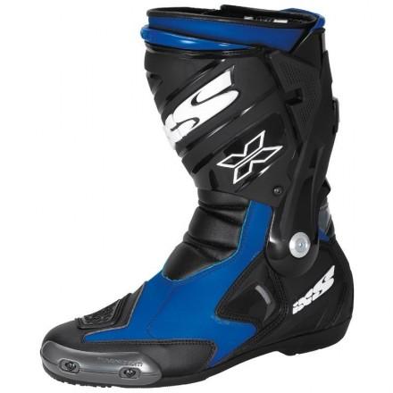 Botas moto racing IXS Estoril negro-azul