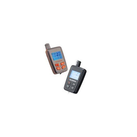 Alarma Scorpio SR-I600-SW (Mando recargable, sumergible y anti-chock)