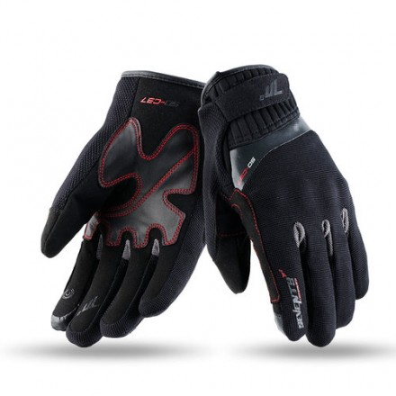 Guantes invierno mujer Seventy SD-C37 negro-gris
