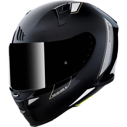 Casco integral MT Revenge 2 Solid A11 Gloss Black