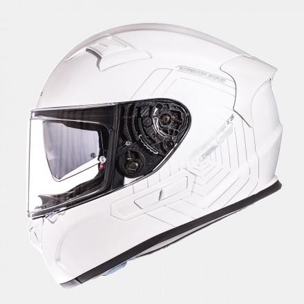 Casco integral MT KRE SV Solid Gloss Pearl White