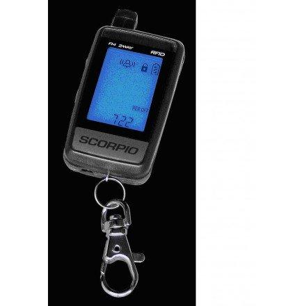 Alarma Scorpio SR-I900-SW con sistema RFID y mando TRS-9