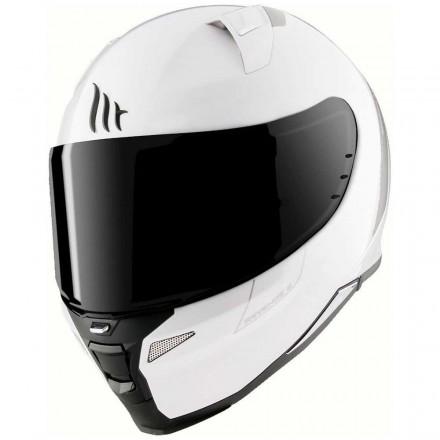 Casco integral MT Revenge 2 Solid A0 Gloss Pearl White