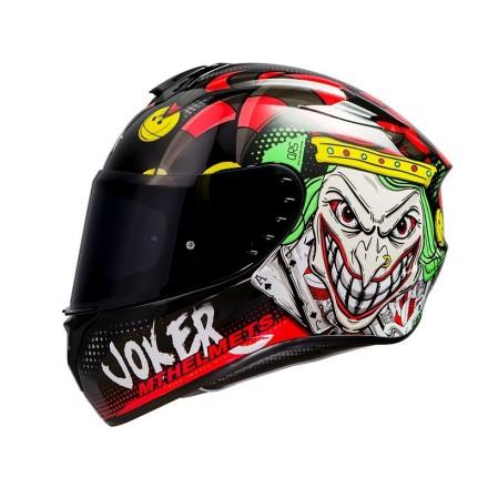 Casco integral MT Targo Joker A1 Negro Brillo
