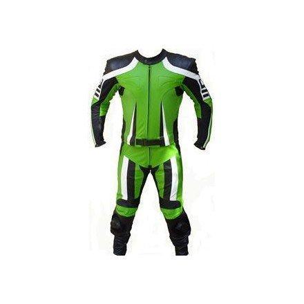 Mono de moto 2 piezas Reko BC-232 color verde