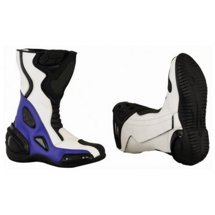 Bota Piel racing GOYAMOTO GM-365 color azul