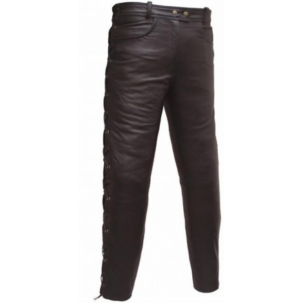 Pantalón de cuero custom Goyamoto GM-158