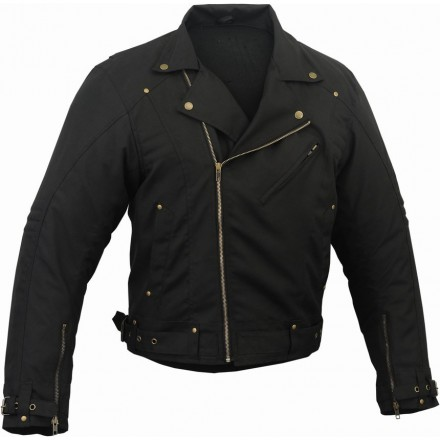 Chaqueta de cordura custom GM-125 color negro