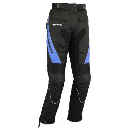 Pantalón de cordura mujer Goyamoto GM-141 color negro-azul