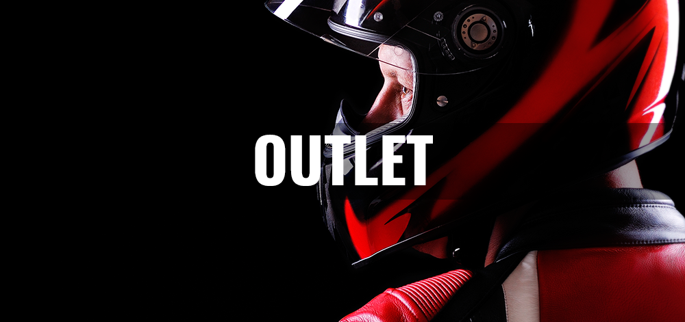 Outlet complementos moto