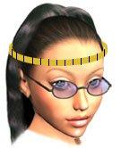 Medir cabeza para saber talla de casco